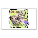 I'm a Sagittarius Sticker (Rectangle)