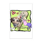 I'm a Sagittarius Mini Poster Print