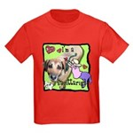 I'm a Sagittarius Kids Dark T-Shirt