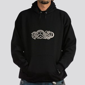 Urnes Snake Extended Stomach Retro Hoodie