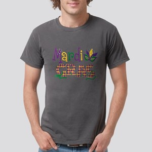 Argyle Mardi Gras Mens Comfort Colors Shirt