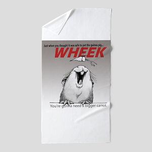 Piggy Jaws - grad Beach Towel