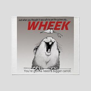 Piggy Jaws - grad Throw Blanket