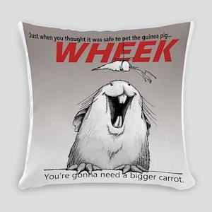 Piggy Jaws - grad Everyday Pillow