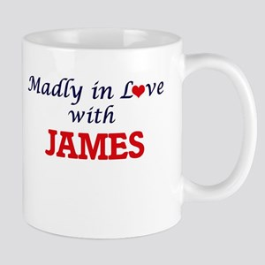 Madly in love with James Mugs