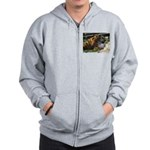 At the Cape May Zoo Zip Hoodie