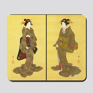 Geishas by Utagawa Mousepad
