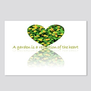 Reflection of the heart Postcards (Package of 8)