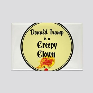 Trump is a creepy clown, Magnets