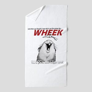 Guinea Pig Jaws Beach Towel