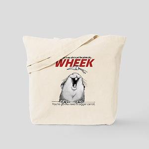 Guinea Pig Jaws Tote Bag