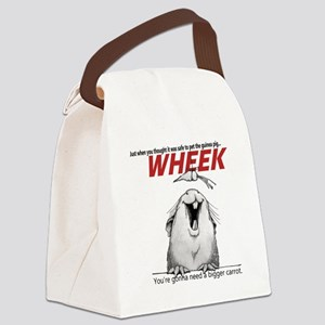 Guinea Pig Jaws Canvas Lunch Bag