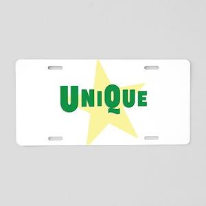 Unique Aluminum License Plate