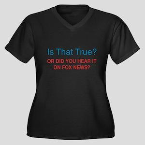 Anti Fox News Plus Size T-Shirt