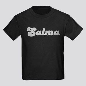 Salma Fancy (Silver) Kids Dark T-Shirt