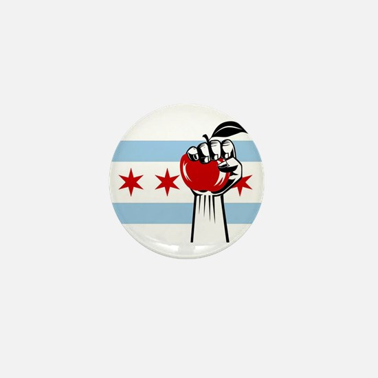 RevolutionAppleChicago Mini Button