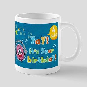 Yay Birthday Monster Jam Mugs