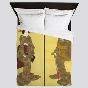 Geishas by Utagawa Queen Duvet