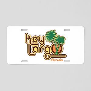 Key Largo Florida Aluminum License Plate