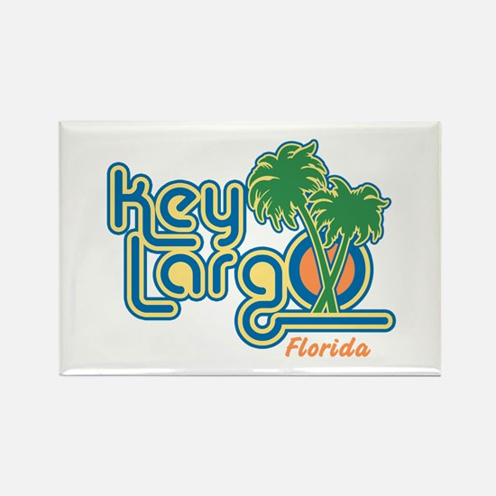 Key Largo Florida Rectangle Magnet
