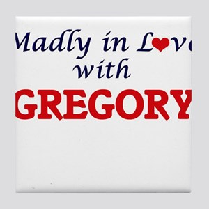 Madly in love with Gregory Tile Coaster