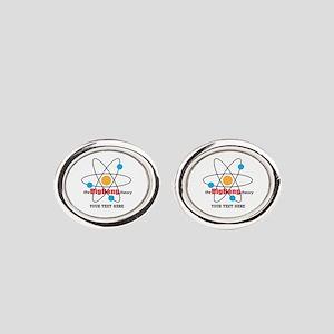 Big Bang Theory Personalized Oval Cufflinks