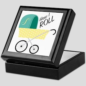 How I Roll Keepsake Box
