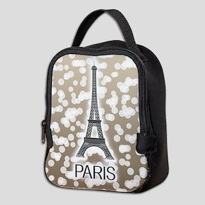 Paris: City of Light, Eiffel To Neoprene Lunch Bag