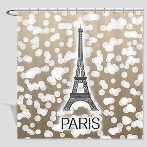 Paris: City of Light, Eiffel Tower Shower Curtain