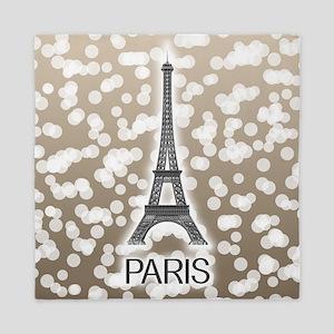 Paris: City of Light, Eiffel Tower (Be Queen Duvet