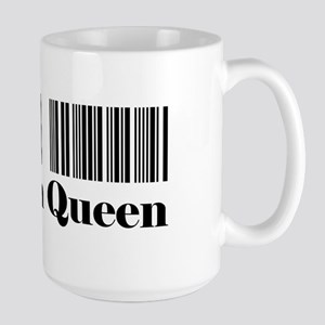 HRT-BAR CODE-coupon queen 1 Mugs