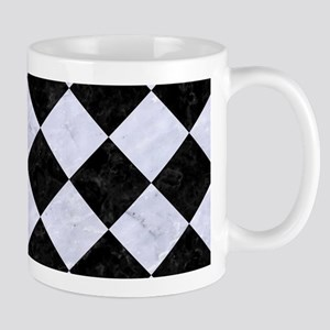 SQR2 BK-WH MARBLE Mug