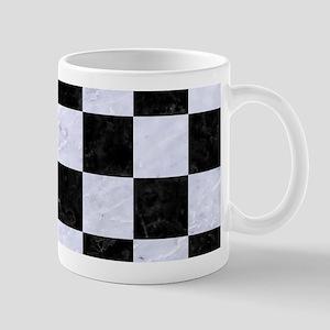 SQR1 BK-WH MARBLE Mug
