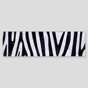 SKN4 BK-WH MARBLE Sticker (Bumper)