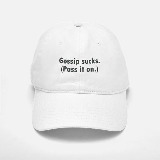 Gossip Baseball Baseball Cap