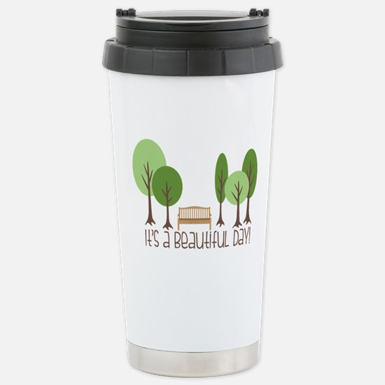 Beautiful Day Travel Mug