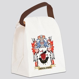 Donaldson Coat of Arms - Family C Canvas Lunch Bag