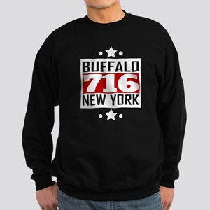 716 Buffalo NY Area Code Sweatshirt