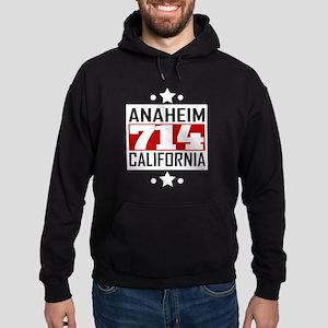 714 Anaheim CA Area Code Hoodie