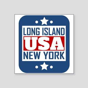 Long Island New York USA Sticker