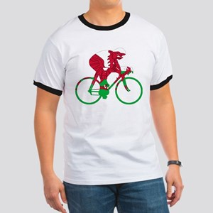 Wales Cycling Ringer T