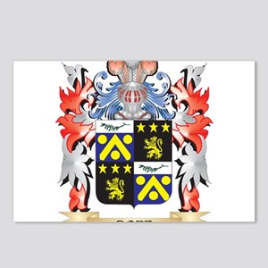 Dore Coat of Arms - Famil Postcards (Package of 8)