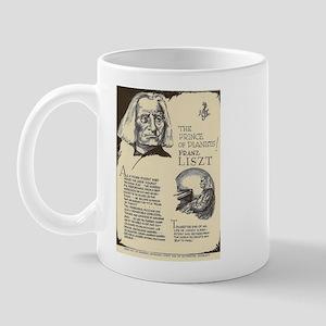 Franz Liszt Mini Biography Mugs
