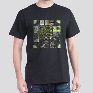 space monkey collage Dark T-Shirt