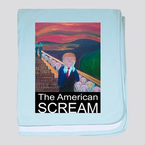 The American Scream baby blanket
