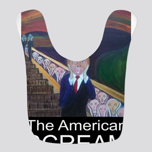 The American Scream Polyester Baby Bib
