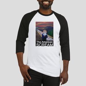 The American Scream Baseball Jersey