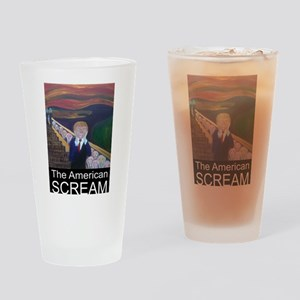 The American Scream Drinking Glass