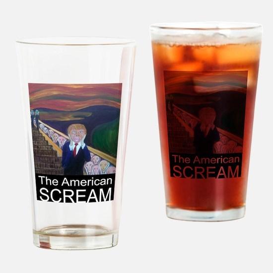 The American Scream Drinking Glass