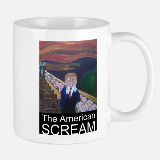 The American Scream Mugs